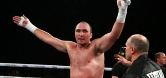 Александр Устинов возможно будет соревноваться с Владимиром Кличко